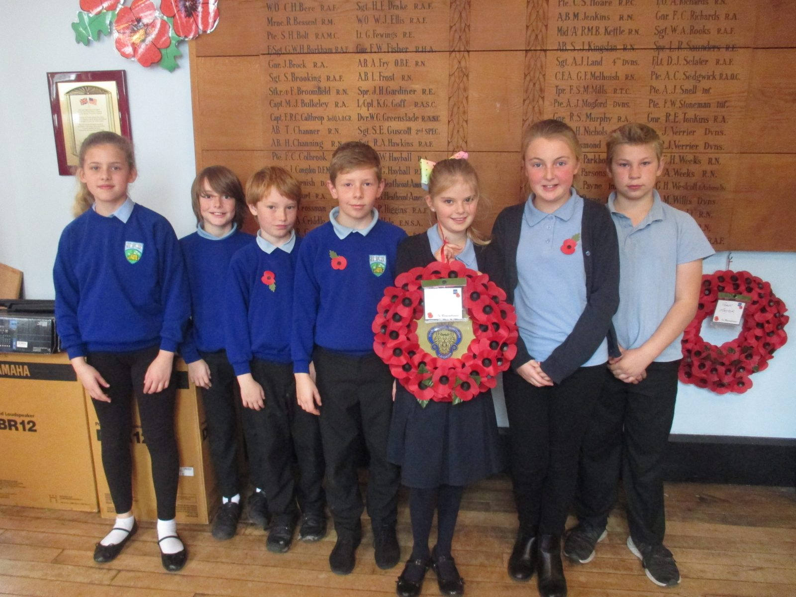 Heathcoat Primary Legion visit