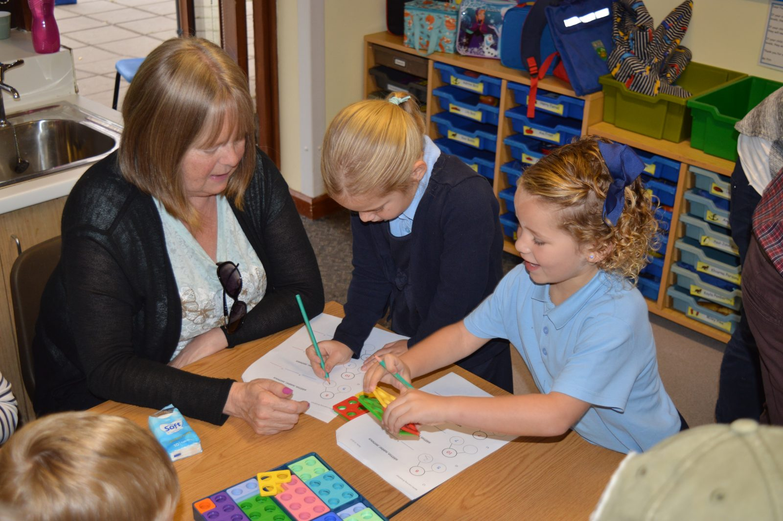 Heathcoat Primary School maths learning breakfast