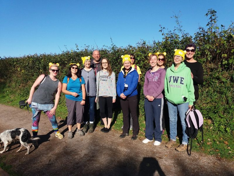 Children in Need Countryfile ramble fundraising